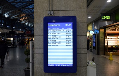 Concourse Screens Heuston 13 October 2017