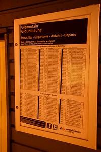 Glounthaune Timetable 25 October 2018