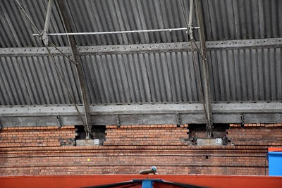 Preliminary works on Pearse Station roof 20 October 2018
