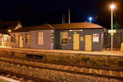 Glounthaune station building 25 October 2018