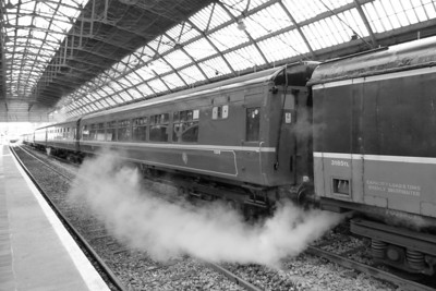 3185 brings some atmosphere to Dublin Pearse by letting off steam. Sunday, 04/12/11