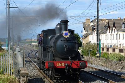 186 running around its train. Malahide,Sunday, 07/08/11
