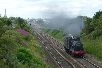 186 on a run from Whitehead to Dublin Connolly. Balbriggan, Tuesday, 02/08/11