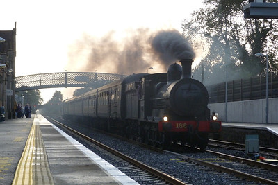 The main event of the weekend was the 'Province of Leinster' tour with 186. Here 186 returns through Kildare on the way back from Kilkenny. Saturday, 10/09/11