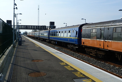 Cravens both blue and orange/black at M3 Parkway, Saturday, 24/03/12