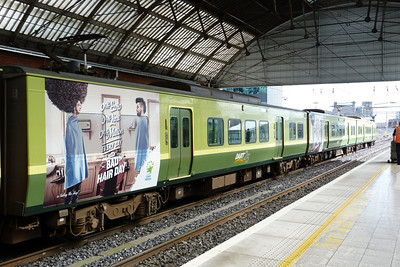 A new full-height ad on 8521 for the National Lottery. Dublin Pearse, Wednesday, 19/09/12