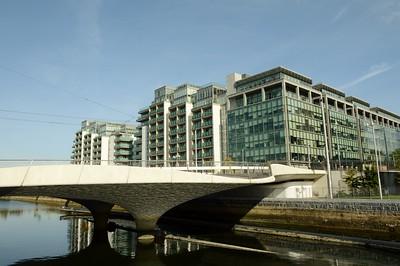 Luas Bridge at Royal Canal 28 September 2015