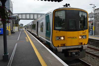 2802 Athenry station 17 September 2016
