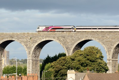 227 crosses the Drogheda Viaduct 16 September 2016