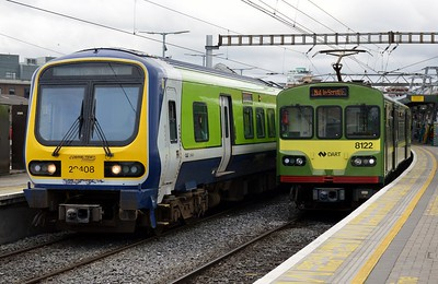 29408 & 8122 at Connolly 9 September 2017
