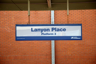 Lanyon Place 12 September 2018 New name for Belfast Central.