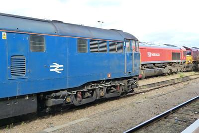 British Rail meets Deutsch Bahn! Didcot Parkway, Monday, 08/08/11