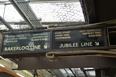Sign at Baker Street, Wednesday, 06/07/11
