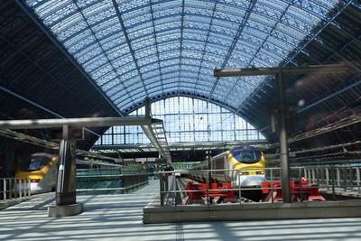 Eurostars at St. Pancras, Wednesday, 06/07/11