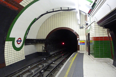 The Bakerloo Line at Piccadilly Circus, Wednesday, 06/07/11