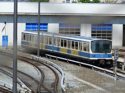 7501, Frottmaning, Munich Type-B U-Bahn, Friday, 06/05/11