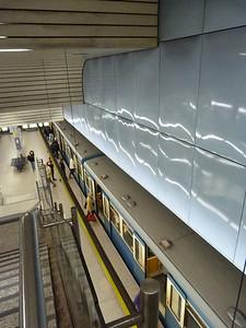 Max-Weber-Platz. Munich Type-A U-Bahn, Wednesday, 04/05/11