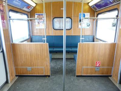 Interior, Frottmaning, Munich Type-A U-Bahn, Friday, 06/05/11