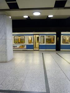 Arabellapark, Munich Type-A U-Bahn, Wednesday, 04/05/11