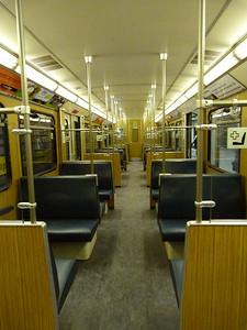 Interior of Munich Type-A U-Bahn, Wednesday, 04/05/11