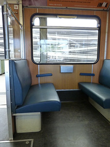 Interior. Frottmaning, Munich Type-A U-Bahn, Friday, 06/05/11