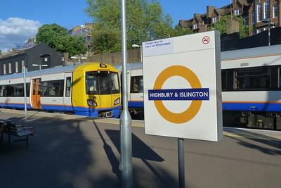 378 149, Highbury & Islington. Saturday, 09/06/12