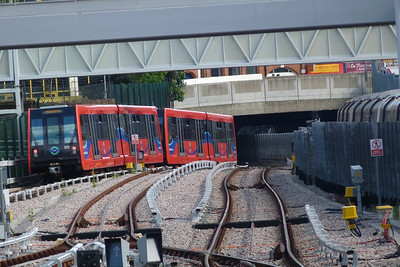 119 departs Stratford. Saturday, 09/06/12