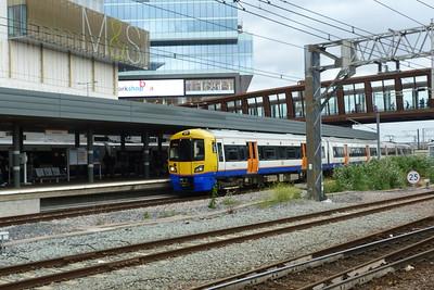 378 209 at the North London Line platforms at Stratford, Friday, 08/06/12