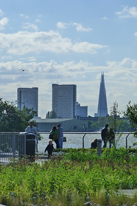 A view of the Shard from Greenwich. Saturday, 09/06/12