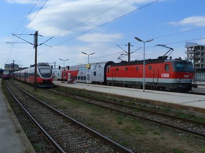 1144 207 Wien Sudbahnhof. Vienna, Monday, 02/05/11