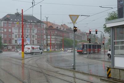 7117 in a thunder storm Bratislava, Tuesday, 03/05/11
