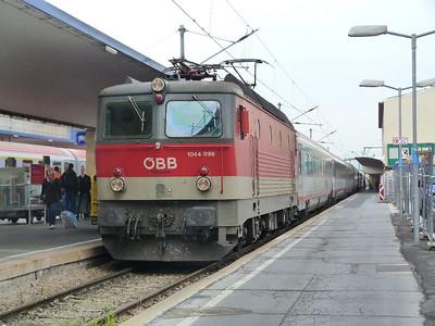 1044 096 Wien Ostbahnhof. Vienna, Tuesday, 03/05/11