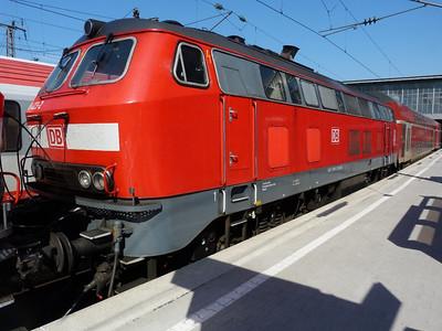 218 423 Munich Hbf, Friday, 06/05/11