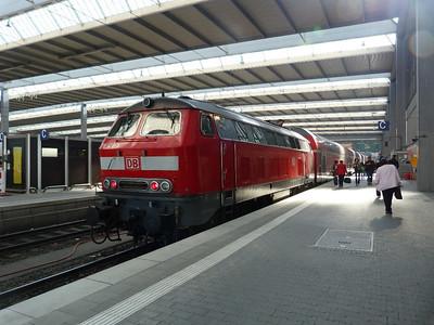 218 426 Munich Hbf, Friday, 06/05/11