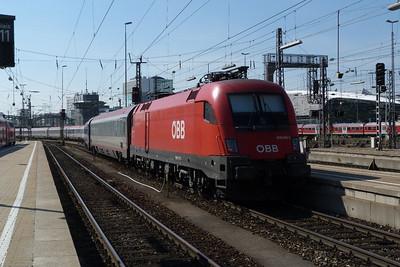 1016 008 Munich Hbf, Friday, 06/05/11
