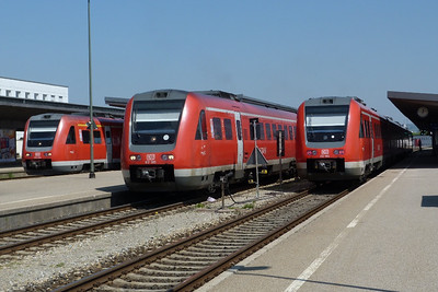 612 004, 612 585 & 612 584 Kempten, Thursday, 05/05/11