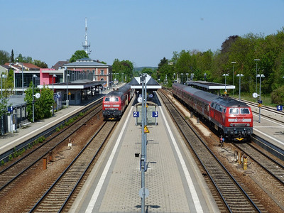 218 486 & 218 462 Memmingen,Thursday, 05/05/11