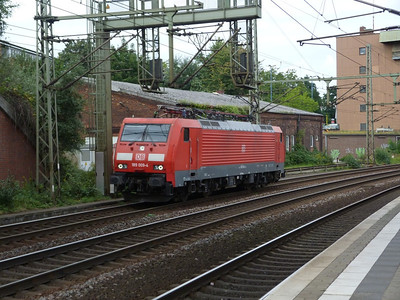 189 009, Hamburg-Harburg, Thursday, 13/09/12