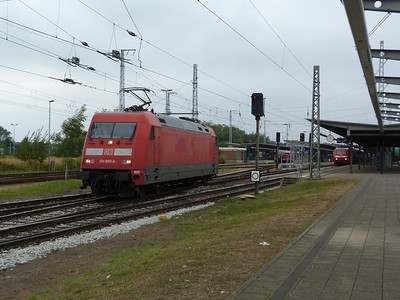 101 099, Rostock Hbf, Friday 14/09/12