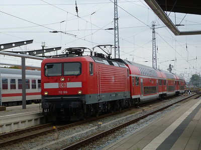 112 186, Rostock Hbf, Friday 14/09/12