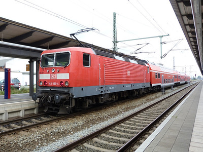 143 889, Rostock Hbf, Friday 14/09/12