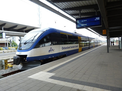 0001, Rostock Hbf, Friday 14/09/12