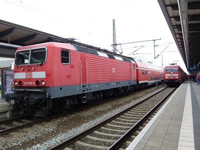 143 860, Rostock Hbf, Friday 14/09/12
