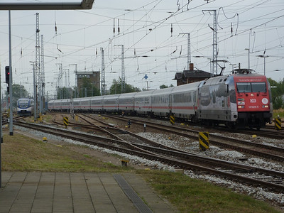 101 025, Rostock Hbf, Friday 14/09/12