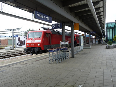 120 207, Rostock Hbf, Friday 14/09/12