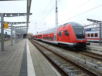 DB Push/Pull, Rostock Hbf, Friday 14/09/12