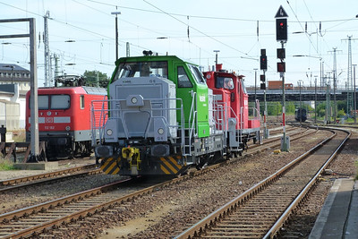 Vossloh Shunter, Cottbus Hbf, Monday, 17/09/12