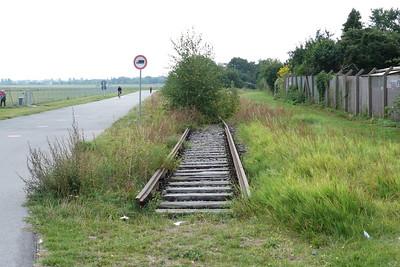 Former railway line at Berlin Templehof Airport, Sunday, 16/09/12