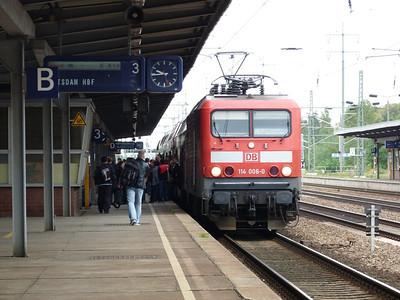 114 006, Berlin Schonefeld, Saturday 15/09/12