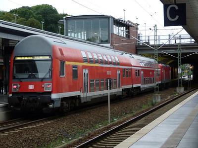 DB Regio train at Berlin Gesundbrunnen, Saturday 15/09/12